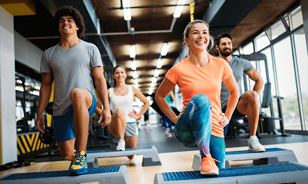 10-rittenkaart voor fitness + groepslessen