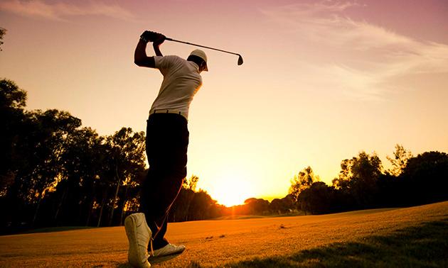 Greenfee voor gehele dag golfen