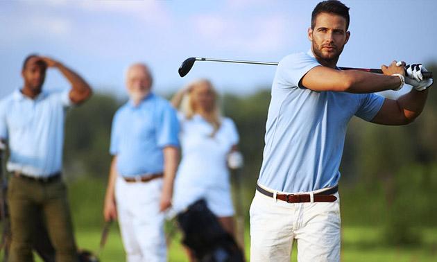 Golfles (1 uur) + 18 holes golfen