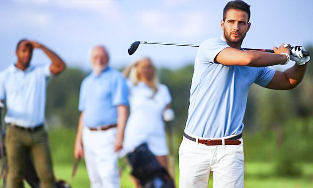 18 holes golfen + eventueel 1 uur golfles