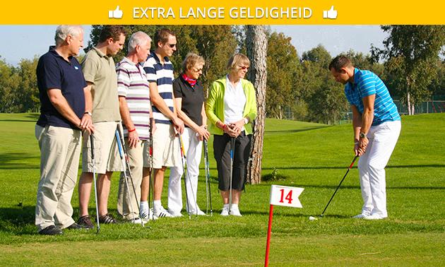 Kennismakingscursus golf + baanpermissie