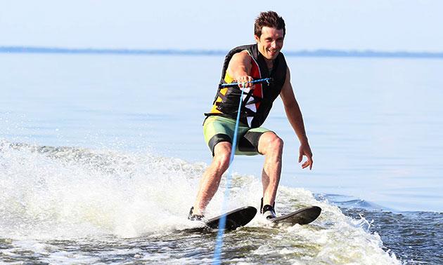Waterskiën of wakeboarden (2 uur)