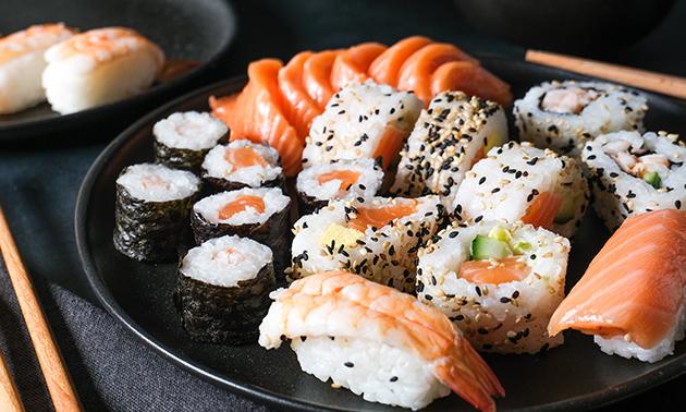 Afhalen: sushibox (30, 56 of 68 stuks)