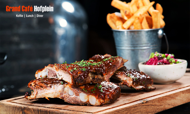 All-You-Can-Eat spareribs bij Grand Café Hofplein