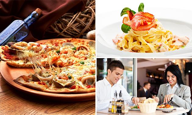 3-gangen keuzediner bij Grand Pizzeria Ristorante