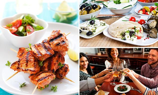 Dinerbon vrij te besteden bij Grieks Restaurant Corfu