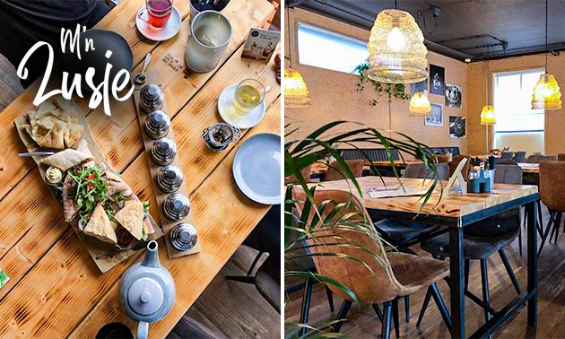 High tea bij Grootcafé M'n Zusje