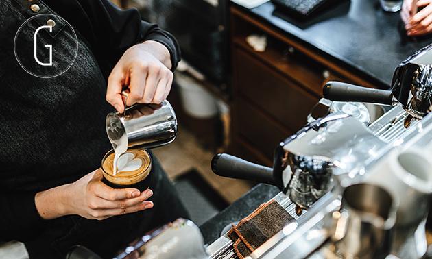 Baristaworkshop + zakje koffiebonen in hartje Haarlem