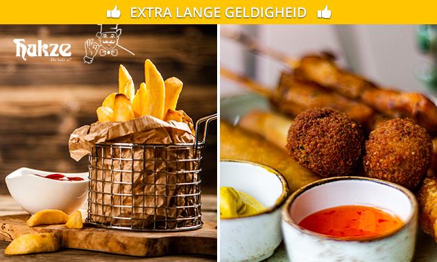 High friet met onbeperkt friet