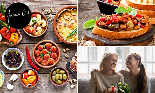 Thuisbezorgd of afhalen: moederdag-tapasdiner (12 gerechten!)