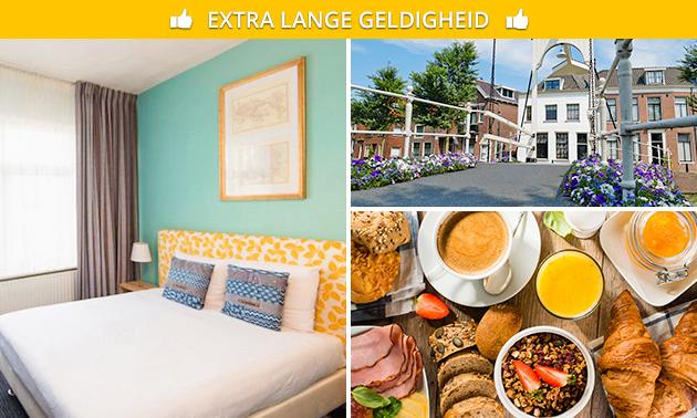 Overnachting(en) + ontbijt voor 2 nabij Amsterdam