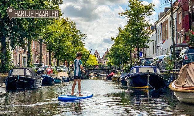 Suppen door de grachten van Haarlem (2 of 3 uur)