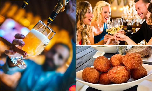 2 bier of wijn + bitterballen in hartje Breda
