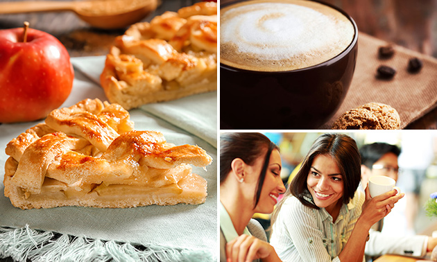 Koffie + gebak bij Heeren van Breda