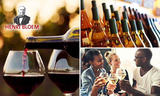 Wereldse wijnproeverij + hapjes