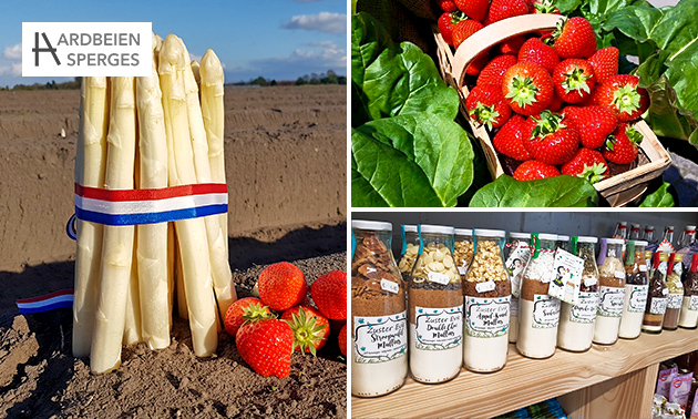 Waardebon voor aardbeien, asperges en meer