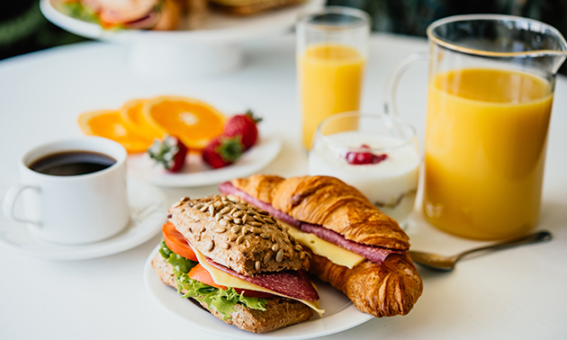 Thuisbezorgd of afhalen: ontbijtbox