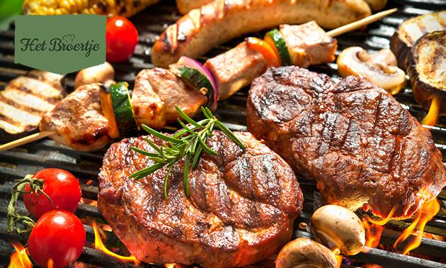 Afhalen: BBQ-pakket voor 1 of 4 personen