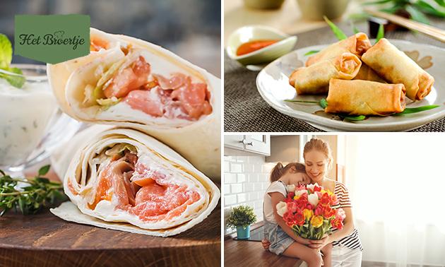 Afhalen: moederdagbrunch of -diner van Het Broertje