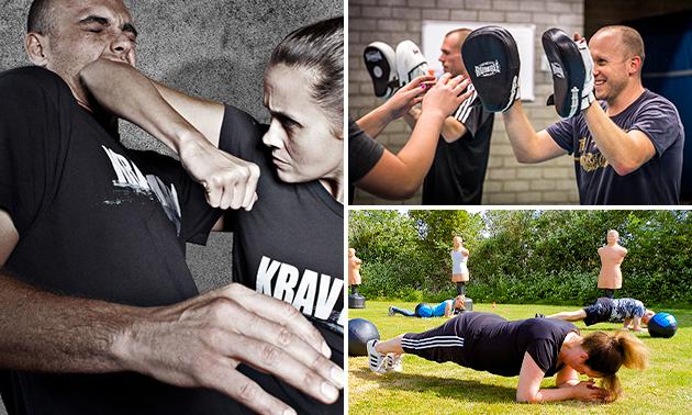 5 of 8 lessen krav maga zelfverdediging