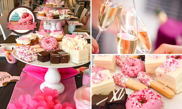 Borrelplank naar keuze + bubbels bij High Tea & Pie