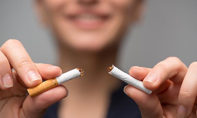 Stoppen met roken met SoftLaser Technology