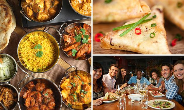 3-gangendiner + amuse bij Himalayan Kitchen