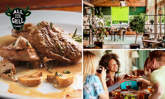 Afhalen: 2-gangen shared dining + bijgerechten