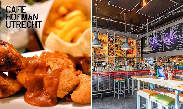 Diner + speciaalbiertje bij Hofman Café