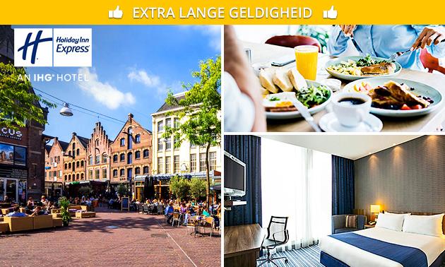 Overnachting + ontbijt + parkeren voor 2 in Arnhem