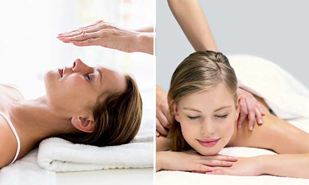 Massage (60 min) of reikibehandeling (90 min)