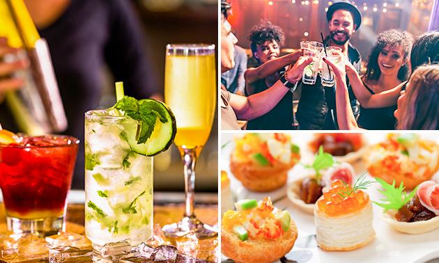 2 cocktails naar keuze + hapjes bij Hoogh Bezoeck