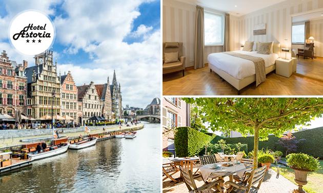VIP-overnachting(en) voor 2 + ontbijt + bubbels in Gent
