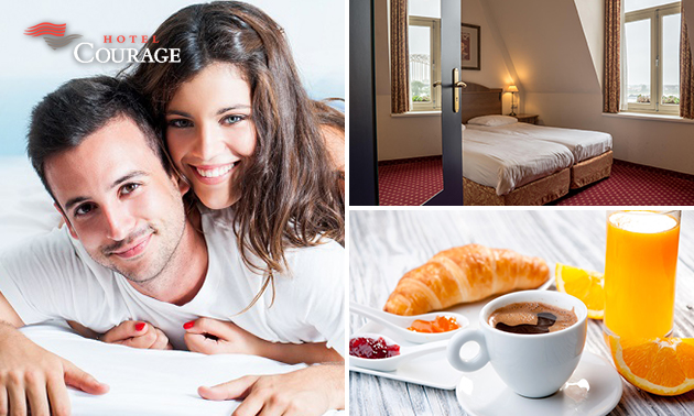 Overnachting(en) + ontbijt voor 2 in hartje Nijmegen