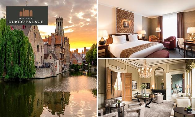 Overnachting + ontbijt in 5-sterrenhotel in hartje Brugge