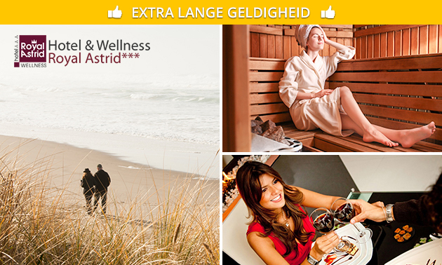 Overnachting(en) + wellness + evt. diner in Oostende