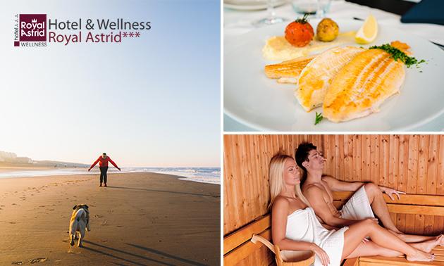 Overnachting(en) voor 2 + wellness in Oostende