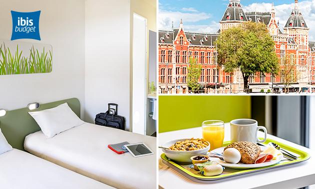Overnachting voor 2 + ontbijt in Zaandam