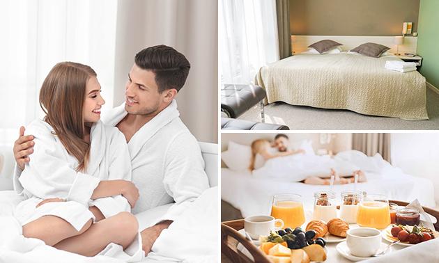 Overnachtingen + ontbijt + diner + entree Holland Casino