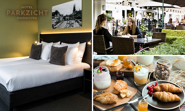 Overnachting(en) in Eindhoven + ontbijt + bubbels voor 2