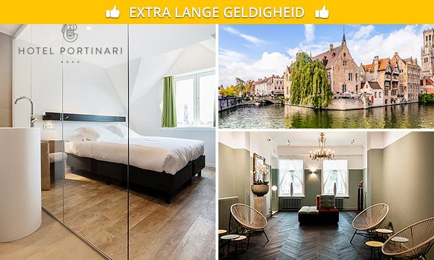 2 overnachtingen + ontbijt voor 2 in hartje Brugge