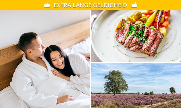 Overnachting + ontbijt voor 2 nabij Zwolle