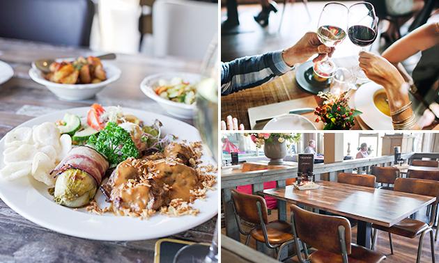 3-gangen keuzediner bij Restaurant Zalkerbroek