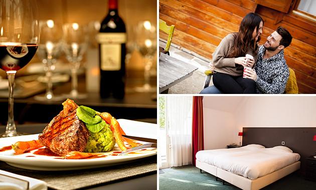 Overnachtingen + ontbijt + diner nabij Enschede
