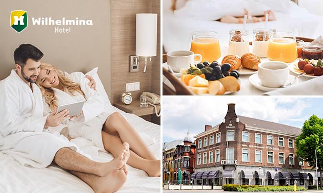Overnachting voor 2 + ontbijt + evt. diner in hartje Venlo