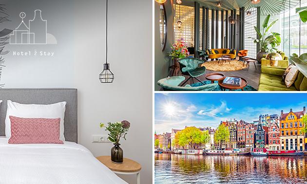 Overnachting(en) voor 2 + fietsen huren in Amsterdam