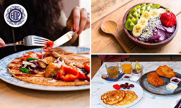 Luxe ontbijt bij House of Pancakes