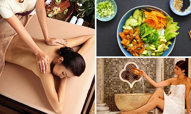 Entree voor House of Wellness evt. inclusief massage