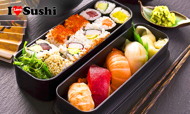 Take-away sushibox (24 of 36 stuks)