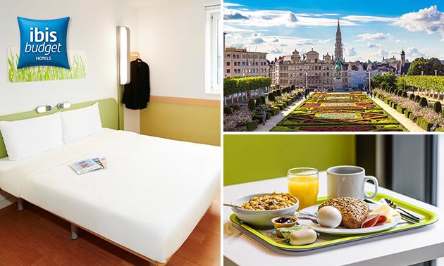 Overnachting voor 2 + evt. ontbijt in Brussel